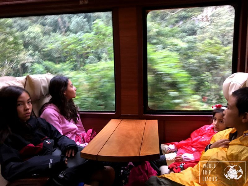 inca rail train machu picchu peru
