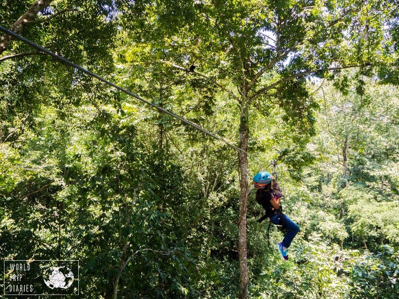 Zip line is very common in both Nicaragua and Costa Rica, with similar prices and qualities. Choose the best setting for your family!