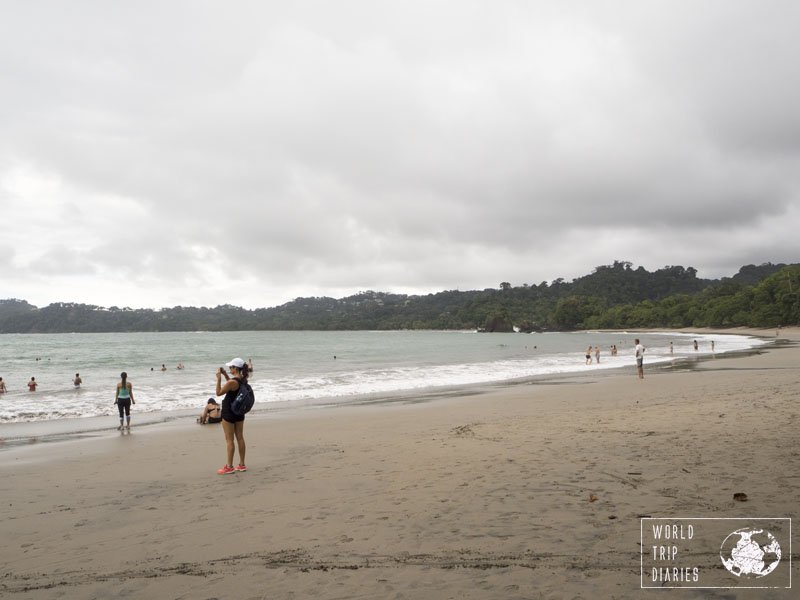The beaches inside Manuel Antonio National Park (Costa Rica) are the best in the area. The whole family loved them!