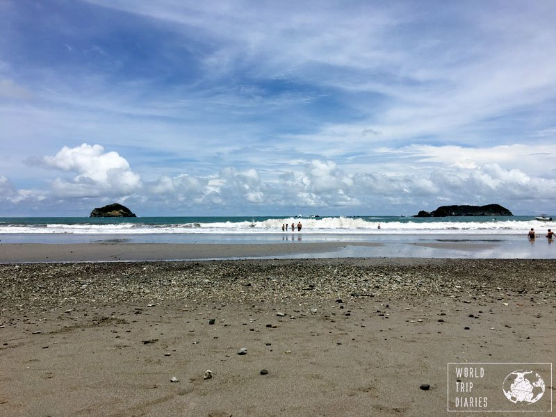 Manuel Antonio, in Costa Rica, is hot and has great beaches! Perfect for families with kids!