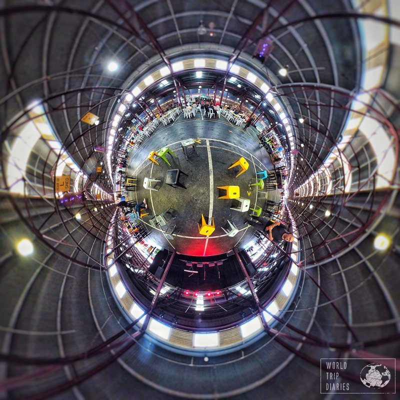 Queen Victoria Market - Little Planet photo - Melbourne, Australia - One of the best places to grab something to eat in Melbourne!