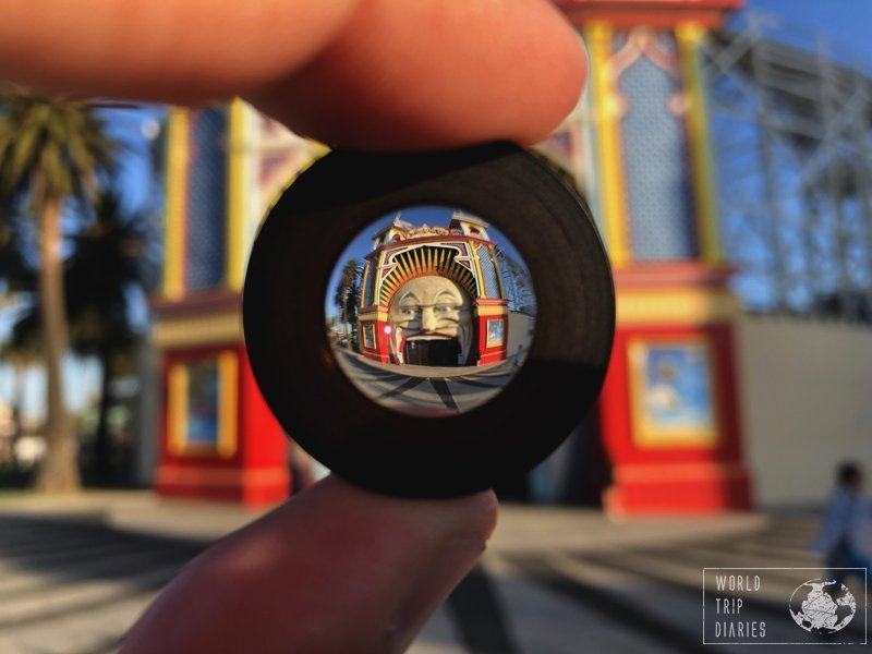 Luna Park is one of the iconic things to see in Melbourne. It's impressive how much they managed to pack into such a small place!