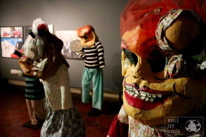 Museo del Carnaval in Montevideo is one of the things to do that can't be missed. It can be a bit scary for the little ones, though.