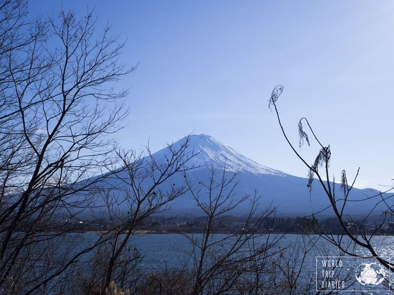 Mount Fuji, the most iconic mountain in Japan. It's breathtaking, really. Even the kids liked it!