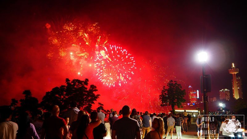 Fireworks are always fun, and the ones in Niagara Falls were a great closure to the great day trip from Toronto. Click to read more!