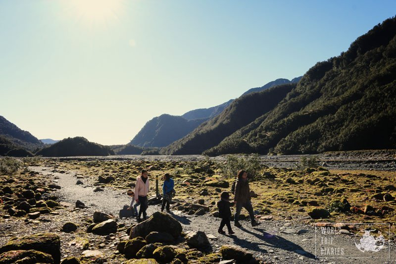 5/6 of us on the stunning Franz Josef Glacier trail (NZ). I can't wait to do it again!