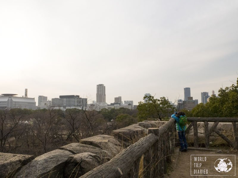 Osaka Castle and Gardens is a must see when visiting Osaka. It's beautiful, and an amazing stop for families with kids!