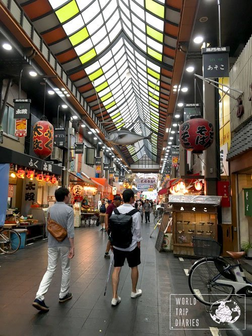 Kuromon Market is a big and famous market place in Osaka. We visited it with our kids! Click for more!