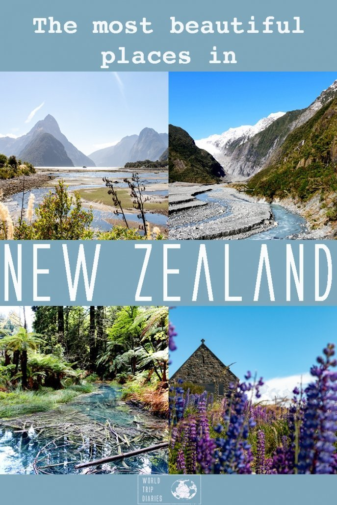There are many breathtaking places in New Zealand, so we've done our research and listed the 30 most beautiful places to visit in NZ! Click for more!
