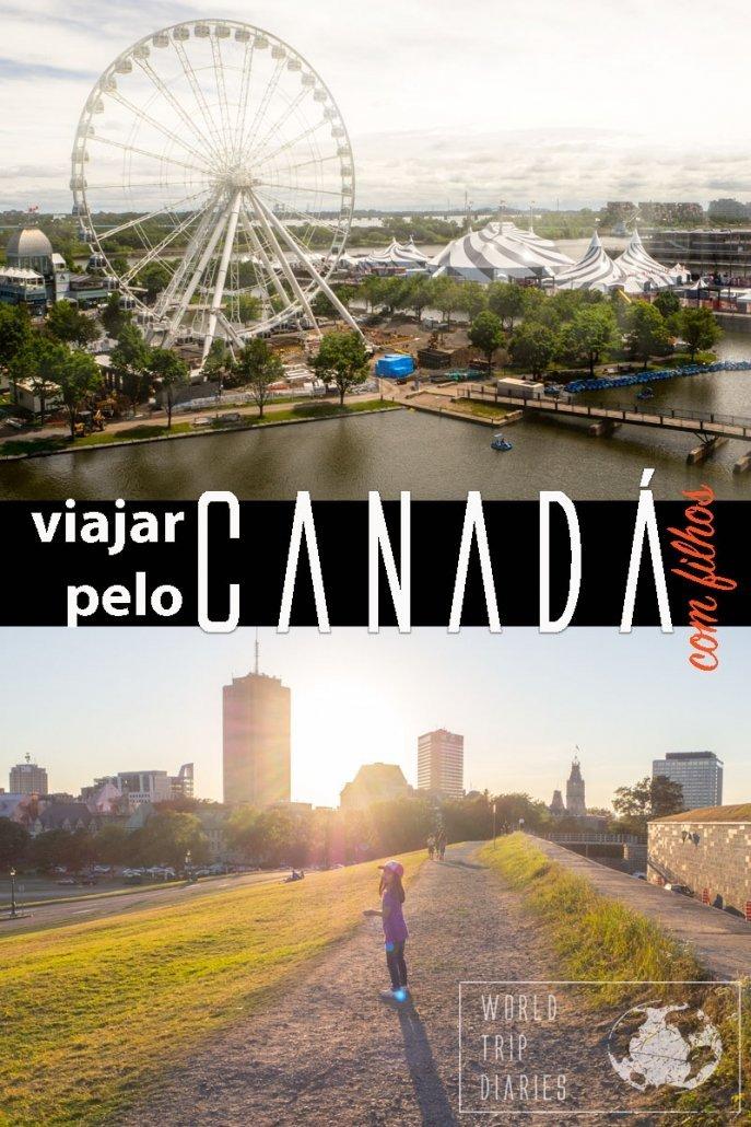 Viajar pelo Canadá é o sonho de muita gente, e não é para menos. É um país maravilhoso, excelente para quem viaja com os filhos! #canada #viagem #viajarcomfilhos