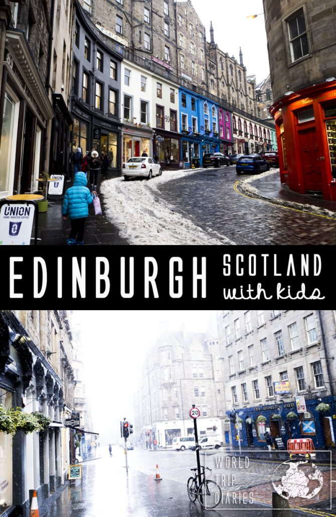 Edinburgh (Scotland) is, by far, one of the prettiest cities we've ever seen. Its colonial buildings, castles, parks, monuments, colorful streets, everything is perfect. It's a perfect place to visit with kids! Click for more!