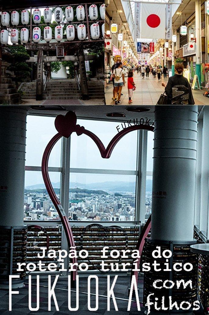 Use essa imagem para adicionar esse artigo: Fukuoka, Japão, com filhos, ao Pinterest.