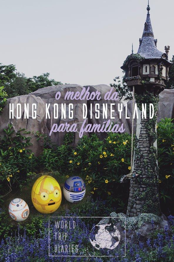A Disney de Hong Kong é um parque ótimo para famílias com crianças pequenas! Clique para saber tudo sobre os brinquedos e atrações! #disney #hongkong #viajar