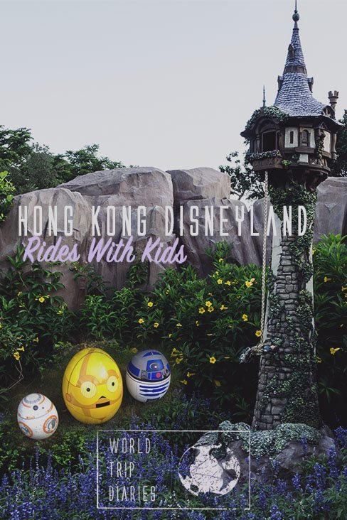 We visited Hong Kong Disneyland with the kids and rode almost every ride. Here are the best things to do with kids in Hong Kong Disneyland. #hongkong #disneyland #family.