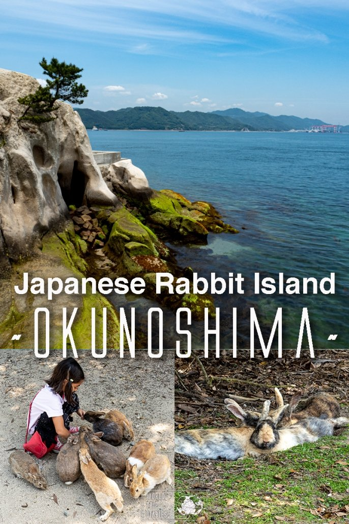 Is it worth to visit Okunoshima, the Rabbit Island in Japan? Find out how it is, how much it costs, how far it is, and more! #okunoshima #rabbitisland #japan #asia #hiroshima