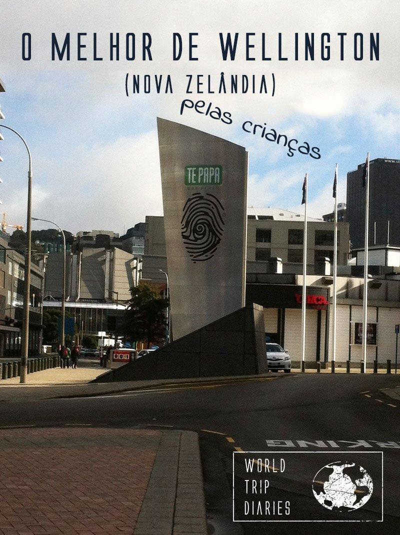 As crianças falam sobre o melhor de Wellington, NZ.