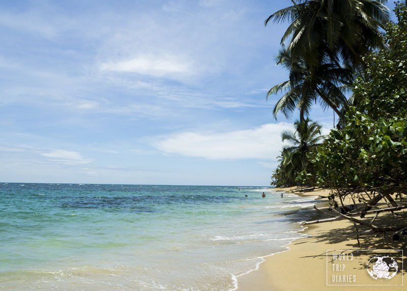 Arrecifes beach was our favorite spot in Punta Uva . I mean, look at it.
