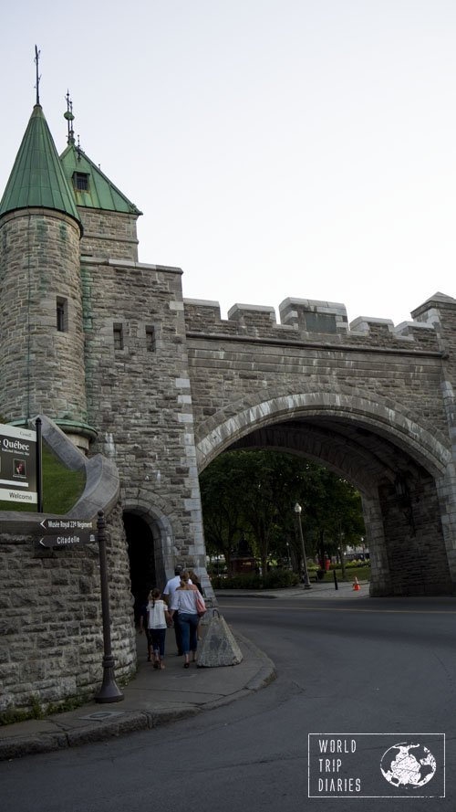 A highlight for everyone, the fortifications of Quebec City are highly family friendly. It's a great way to let kids see the world from above and feel bigger than it all!