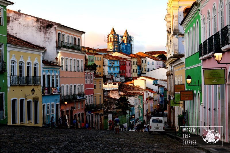 We visited Salvador on our last trip to Brazil and it was so beautiful! It's also in our guide All About Brazil for Families with Kids.