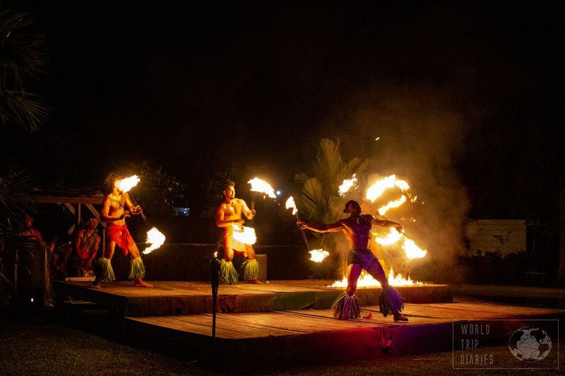 The cultural performances, often combined with dinner, are one of the best things to do in Samoa. All the family will enjoy for sure - if not the show, then the food.