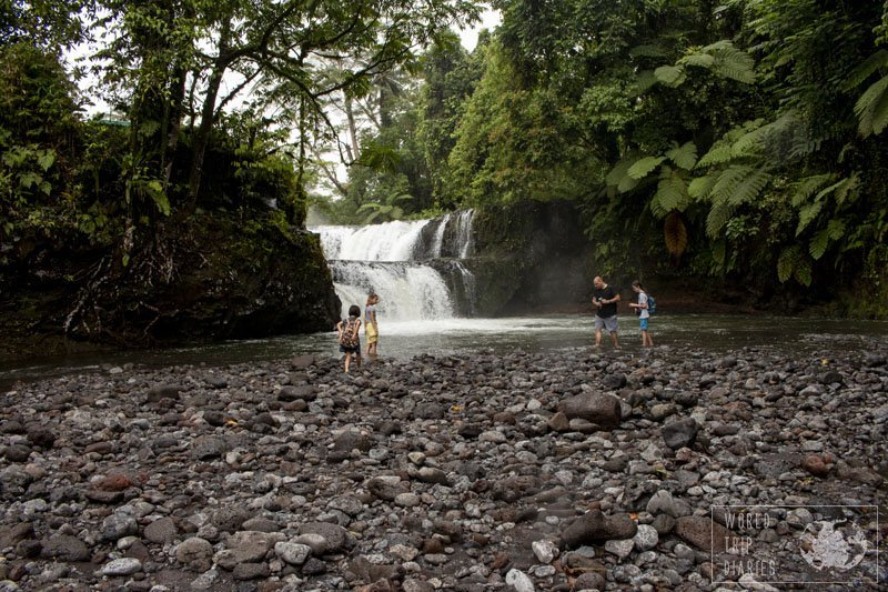 There are so many stunning waterfalls in Upolu Island, Samoa. With kids or without kids, it's guaranteed that you'll have a great time!