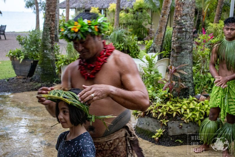 In Samoa, coconut trees are called Tree of Life, as every single part of the tree is used as a staple in life. Most cultural performances include a bit of it!