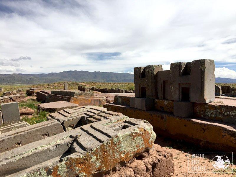 pumapumku tiahuanaco tiwanaku bolivia