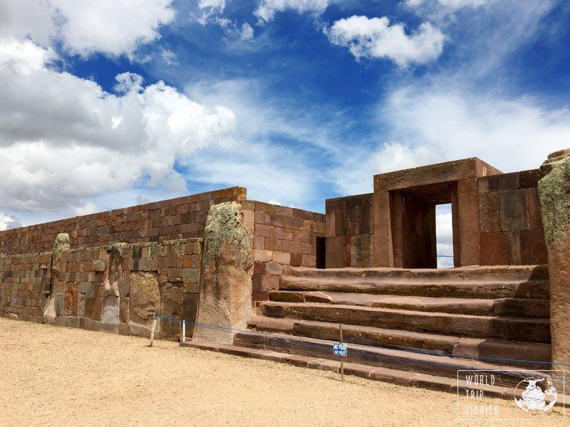 kalasasaya tiahuanaco tiwanaku bolivia