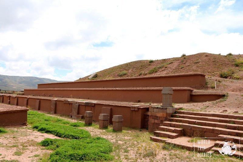 akapana tiahuanaco tiwanaku bolivia