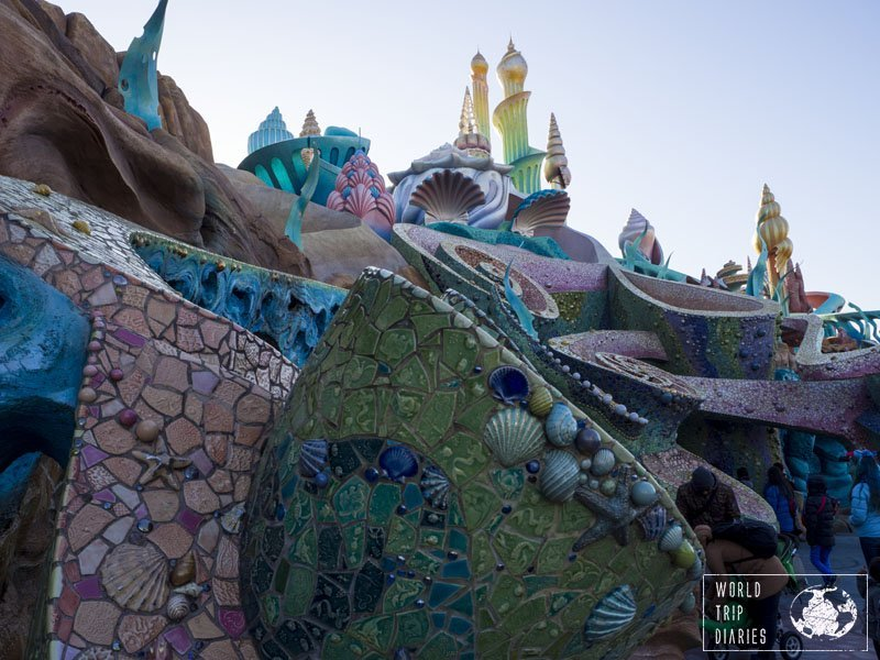 The Mermaid Lagoon is the only place in Disney Sea, Japan, that's suited for little kids. Click for more info!