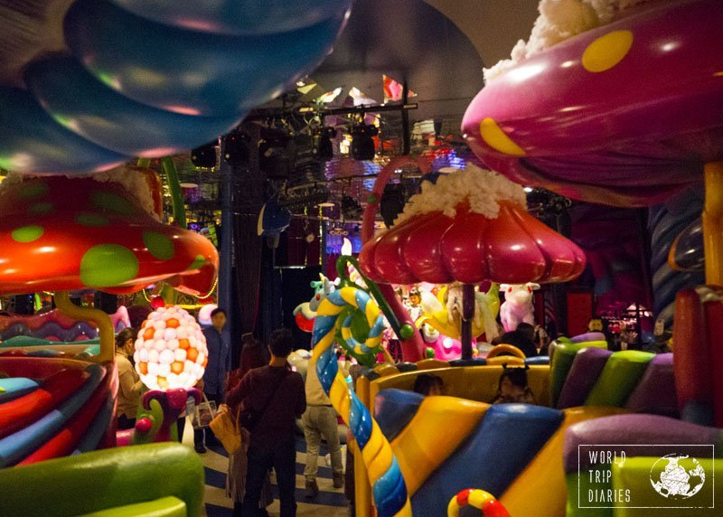 The Kawaii Monster Café is one of the weirdest places we've ever eaten in. It had to be in Japan! click for more!