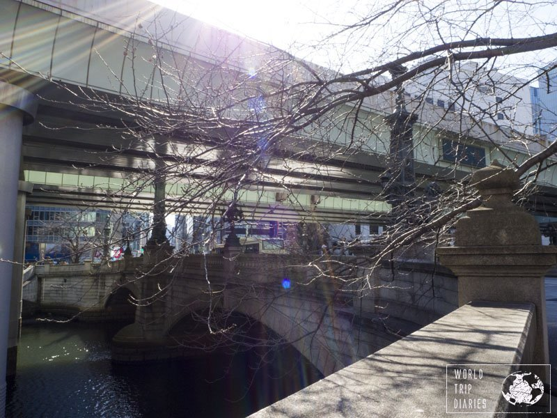 The actual Nihonbashi (Japan Bridge). This is the bridge that names this neighborhood in Tokyo. Click to know more!