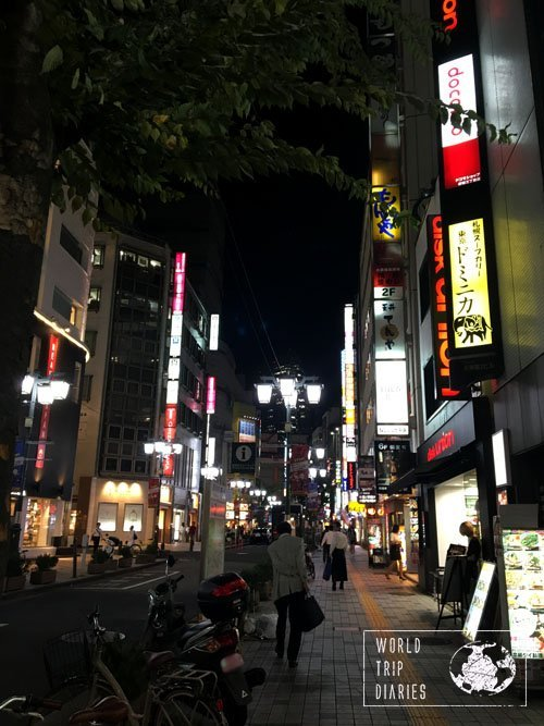 The super alive and bright neon streets in Tokyo are exactly like this. Tokyo is a great place to travel to with kids!