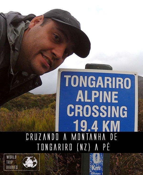 Já pensou em uma caminhada de um dia inteiro, subindo e descendo um vulcão ativo? Esse é o Tongariro Alpine Crossing. Clique para saber mais!