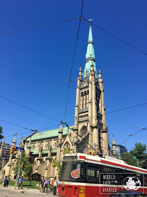 Streetcar in Toronto, Canada