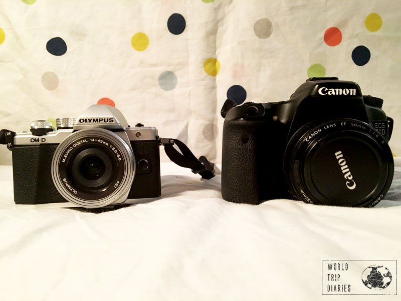 Canon 70D and Olympus OM-D EM10 ll - great cameras!