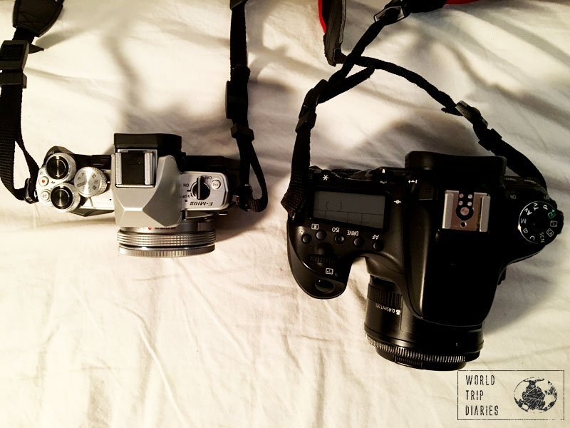 DSLR x Mirrorless, the best for travel