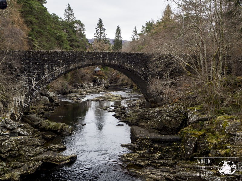 Invermoriston, a quaint little village in Scotland's Highlands, and its quaint beauty. Scotland's full of little secrets...