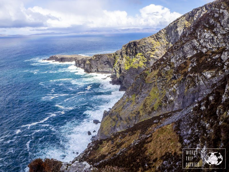 Fogher Cliffs, in Ireland. Ireland is a country full of cliffs and they're all impressive. Click for more!