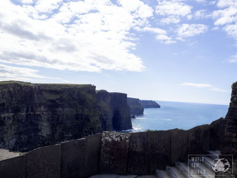 The Cliffs of Moher are one of the most iconic places in Ireland. It's truly majestic - and, as one thing leads to another, very crowded. Click here to know more!