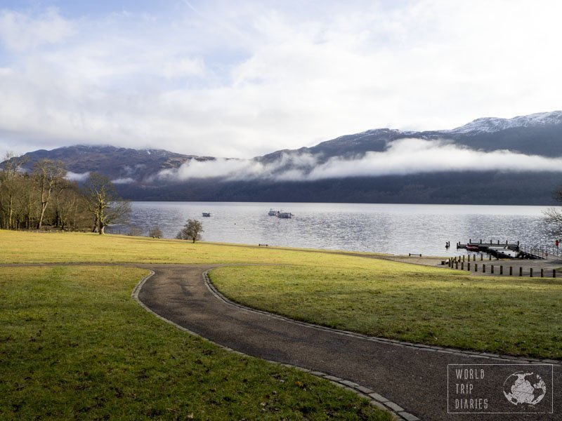 Loch Lomond is near Edinburgh and Glasgow, easy to reach and it's a lovely place to spend a few days in Scotland! Click to know more.
