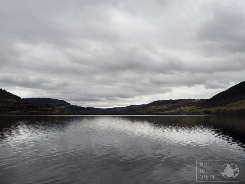 Loch Ness, in Scotland, is famous because of Nessie, the monster that is told to live there. We just had to try, right?