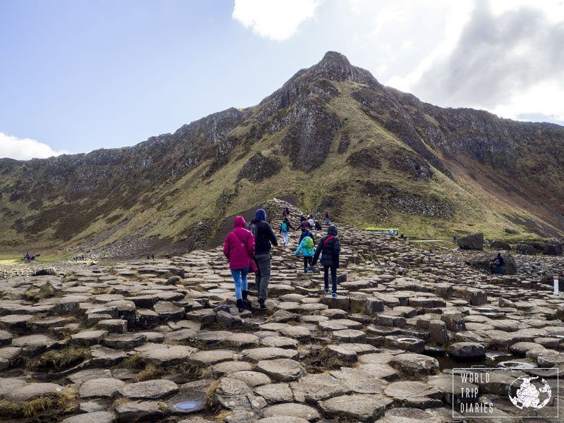 The Giants Causeway is a must-do in Northern Ireland. It's a perfect day-trip from Belfast, and it's great for families! Click for more!