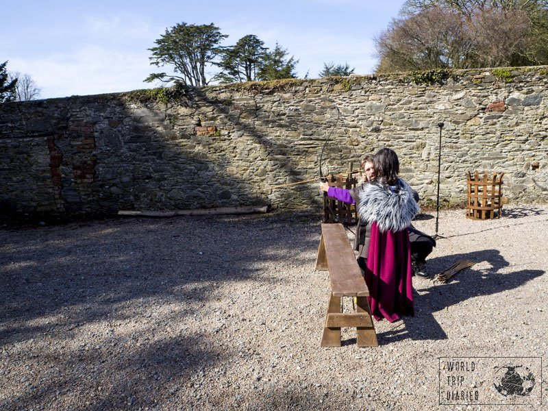 The Archery Package in Winterfell is great even for smaller kids! Click for more!