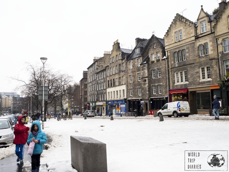 The Grassmarket area is lovely, with some great views of the Edinburgh Castle, and lots of restaurants! It just couldn't go wrong - being one of the must visits in Edinburgh, Scotland.