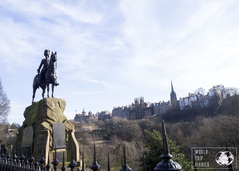 Any walk around Edinburgh is bound to bring up surprises, and the views are always stunning! Click to find out more!
