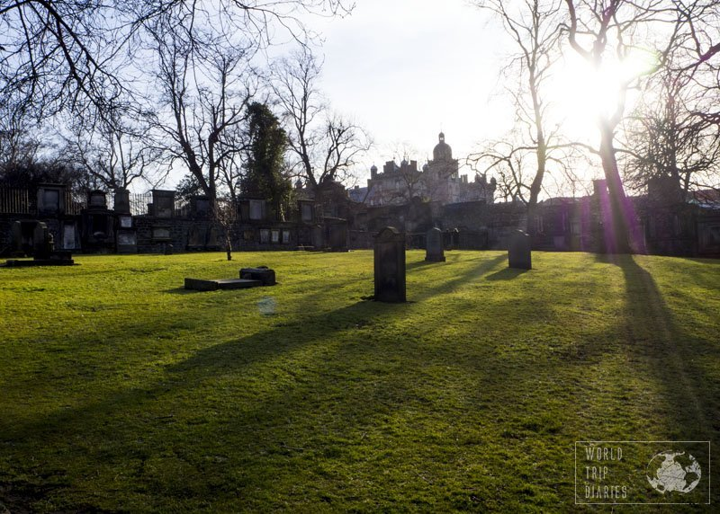 Our Harry Potter fan kids had lots of fun at Greyfriars Kirkyard. This is a must for families in Edinburgh!