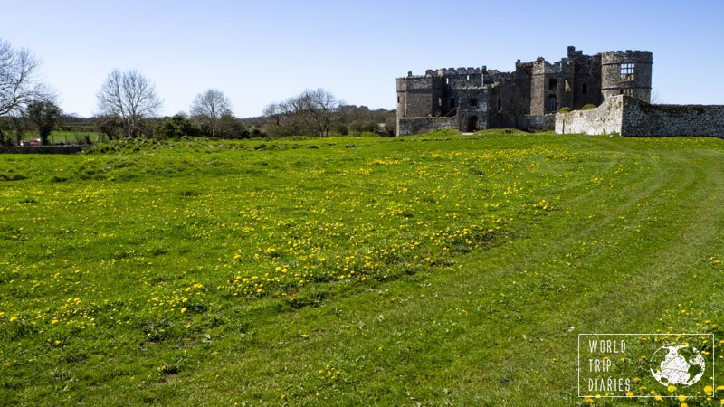 Carew Castle, Wales, is a small, but lovely castle in ruins. It's in Wales and it's perfect for families! Click for more!