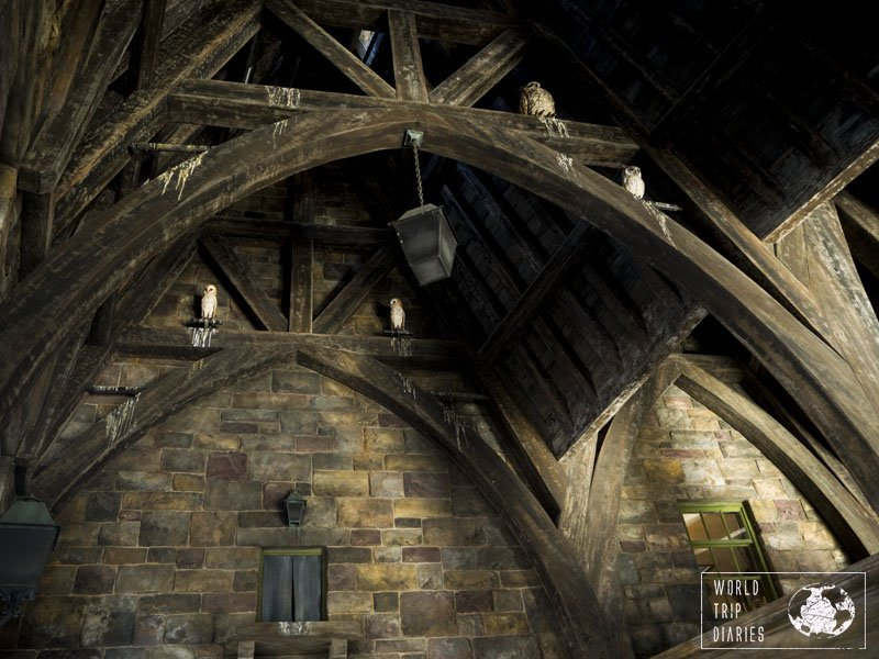 The Wizarding World of Harry Potter is perfect in every single detail. USJ's best, for sure!