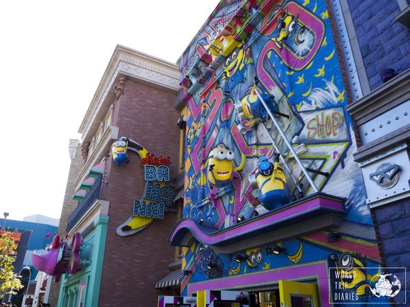 The Minion Park in USJ is new, and therefore, a lot more crowded, but it's definitely worth a visit!